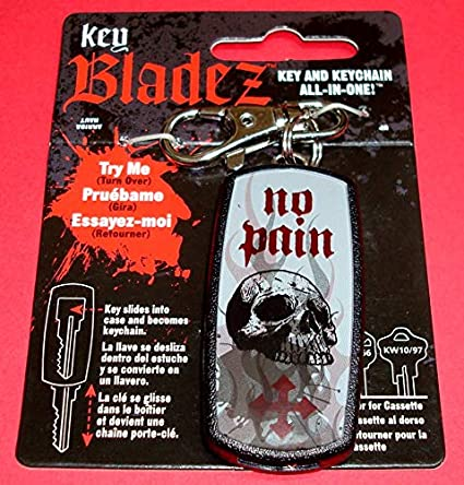Amazon.com: Bladez: No Pain Skull: House Key: KW & KW1 ...