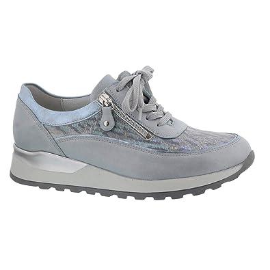 size 40 db88a 4d755 Waldläufer Hiroko, Sneaker, Memphis/Zebra (Glattl. Kombi ...