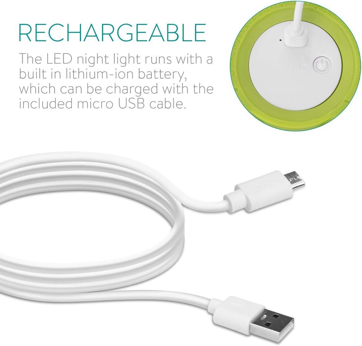 Navaris Lampe LED veilleuse licorne Design licorne blanche avec pendentif Lampe de chevet pour enfant et b/éb/é avec changement de couleurs RVB