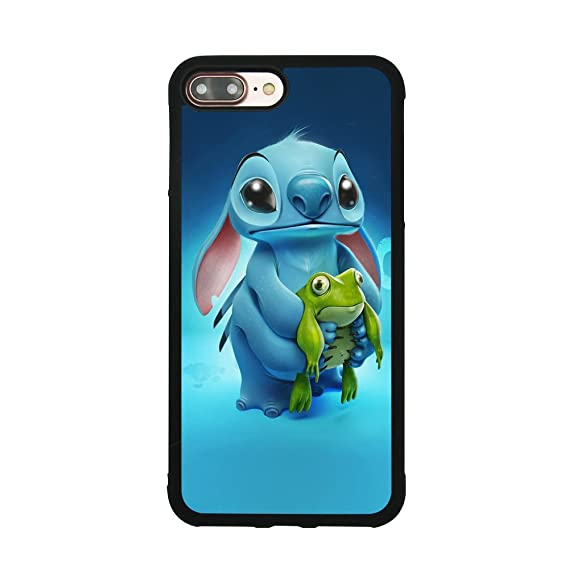 wholesale dealer e764b 652ac Amazon.com: Lilo & Stitch Ohana Case for iPhone 7 Plus / 8 Plus (5.5 ...