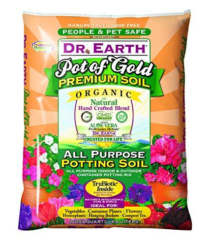 Dr. Earth Pot of Gold All Purpose Potting Soil 8
