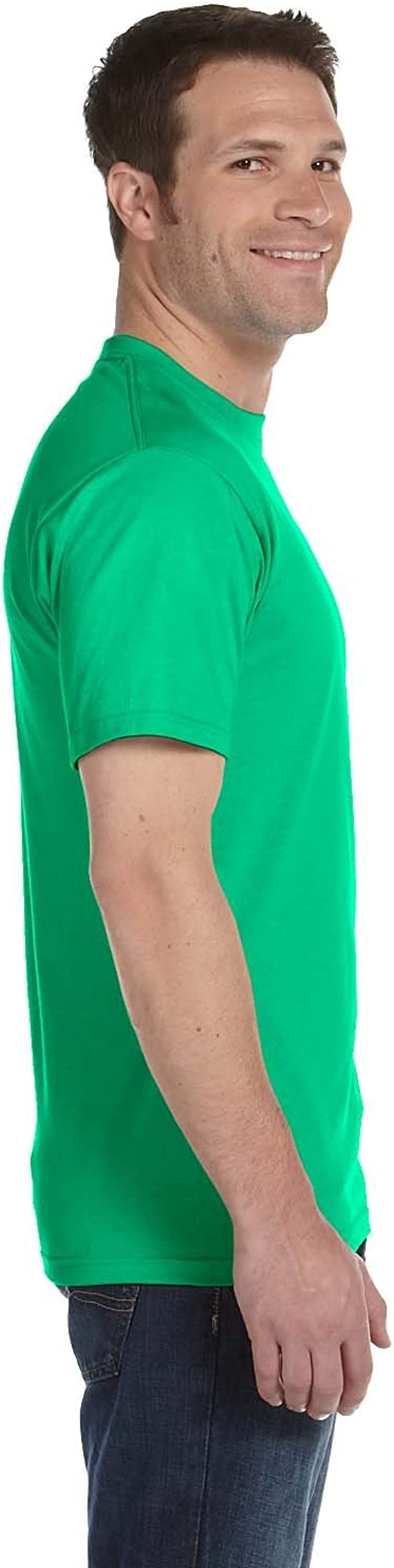 T-shirt OLIVE GREEN L FREE SHIP WHOLE ORDER W PURCHASE