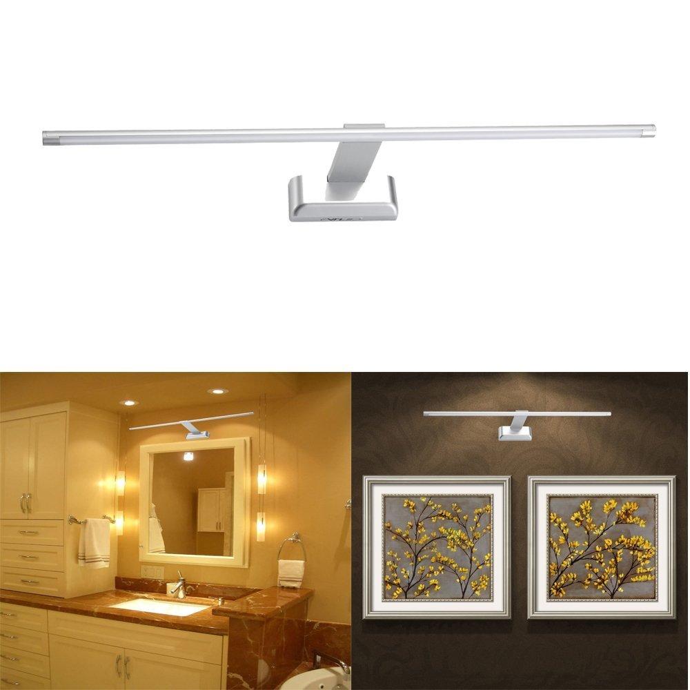 Lampada da parete a luce a LED con luce a specchio da 9W 48LED SMD2835 Illuminazione a luce bianca calda 3000K