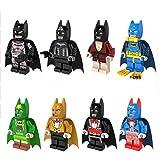 8pcs New Comics Marvel Super Heroes The Batman Minifigures Building Blocks Toys for children Action DIY Gift Baby Toys