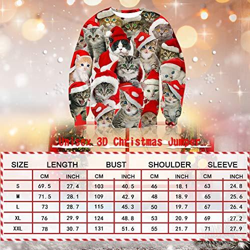 Spreadhoodie Unisex Ugly 2020 Pullover Sweatshirt, M, Christmas Husky