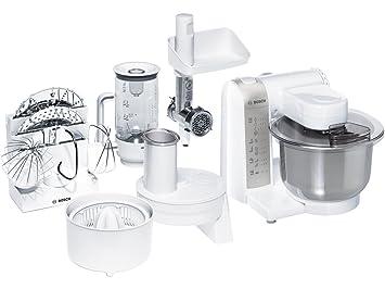 Bosch MU4825 - Robot de cocina (600 W, bol de plástico) con picador, rallador y DVD de recetas interactivo [importado de Alemania]: Amazon.es: Hogar