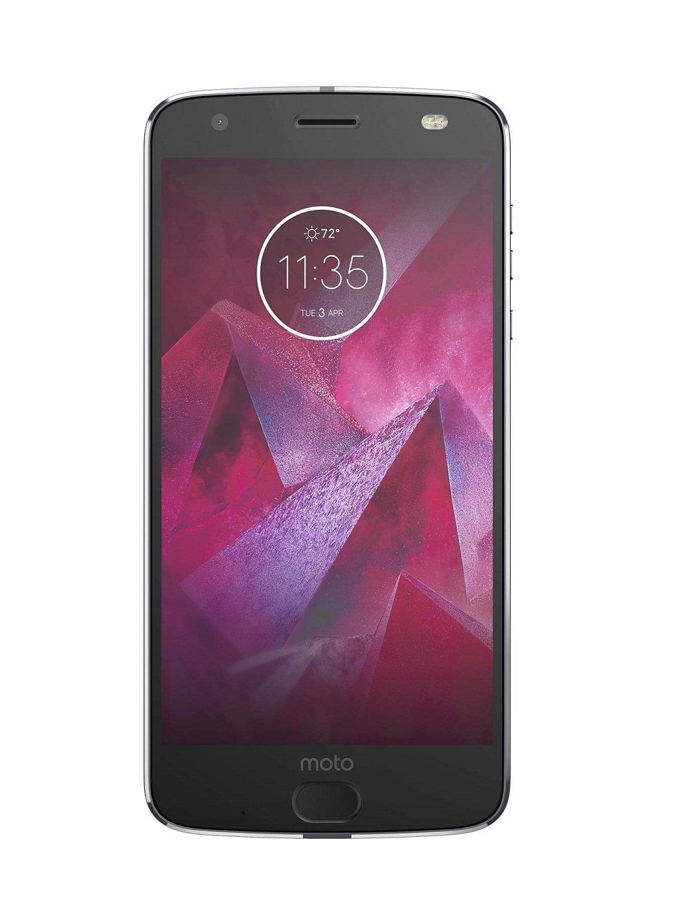 9d21f436a7 Amazon.com  Motorola Moto Z2 Force XT1789 64GB Lunar Gray T-Mobile  Cell  Phones   Accessories