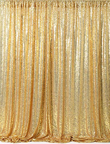 7ft X 7ft Gold Sequin Backdrop, Lined to Prevent, Wedding/party Photo Booth, Photography -