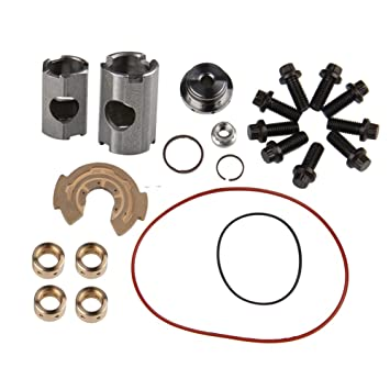 Big-Autoparts Ford 6.0 L Powerstroke Turbocharger Rebuild Kit UPGRADED Garrett GT3782VA turbo