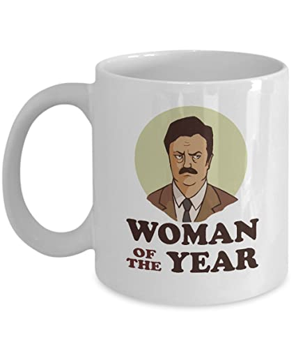 a5fbe569d7b5 Amazon.com: Parks and Recreation Mug Ron Swanson Mug Woman of the ...