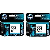Kit Cartuchos de Tinta HP 664 | 2136 | 4536 Black + Color Original - 2ml
