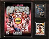 NBA Houston Rockets 12x15-Inch All Time Greats Photo Plaque