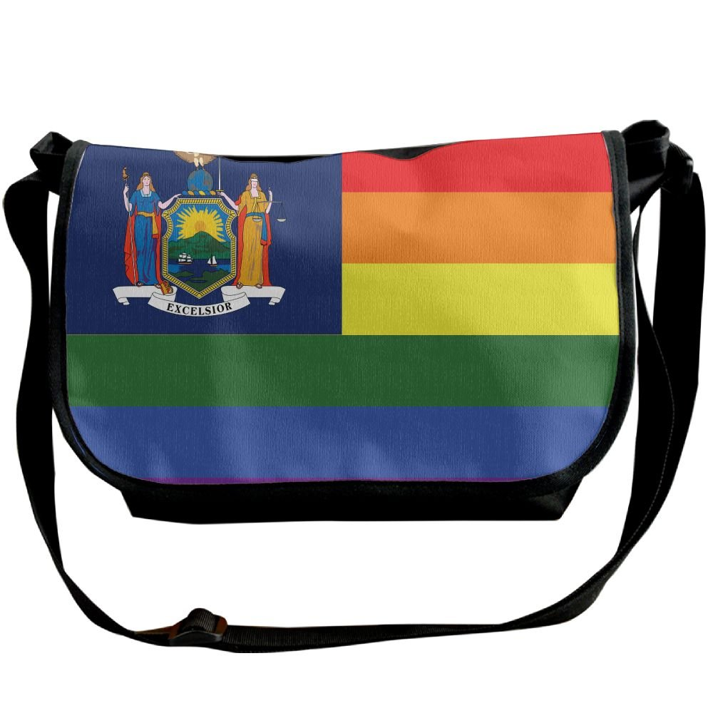 new Futong Huaxia New York Rainbow Flag Travel Messenger Bags Casual Handbag  School Shoulder Bag Crossbody 89755046fb