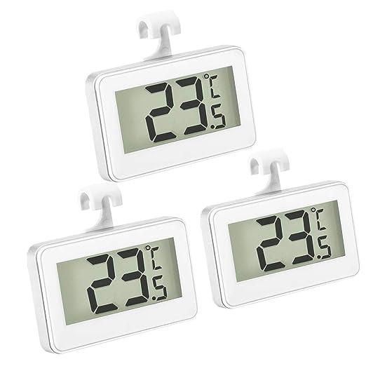 Thlevel 3x Termómetro del Refrigerador Termómetro Digital para ...