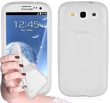 Cadorabo - Carcasa de Silicona para Samsung Galaxy S3 / S3 Neo en HALB, Transparente