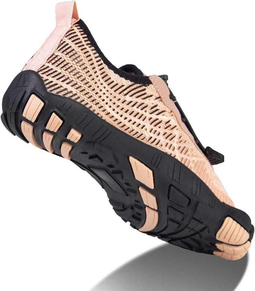 Escalada Ligera al Aire Libre Senderismo jard/ín Zapatos para el Agua WateLves Zapatos de Surf para Hombres y Mujeres Piscina Antideslizante de Secado r/ápido
