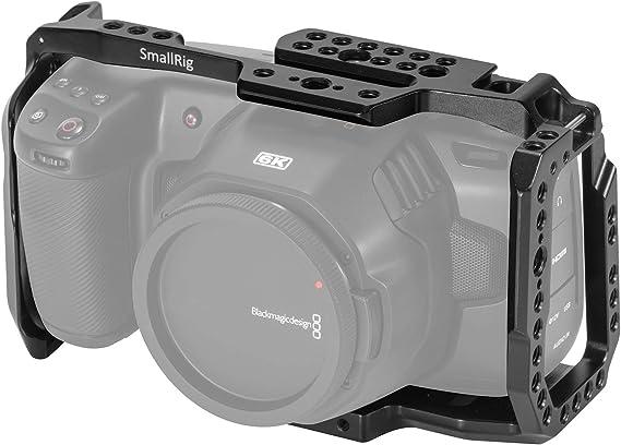 [New Version] SMALLRIG BMPCC 4K & 6K Cage for Blackmagic Design Pocket Cinema Camera 4K & 6K w/Cold Shoe