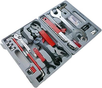 PrimeMatik - Maleta de herramientas para bicicleta Kit de 44 piezas kit: Amazon.es: Electrónica