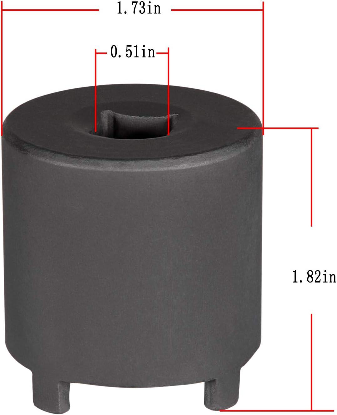 4 Drive Pins Opall 7217 Axle Locknut Socket for GM GMT560 Wheel NUT Socket 1 1//8 1//2 Drive Tools Like OTC Tools /& Equipment 1-3//4 O.D.