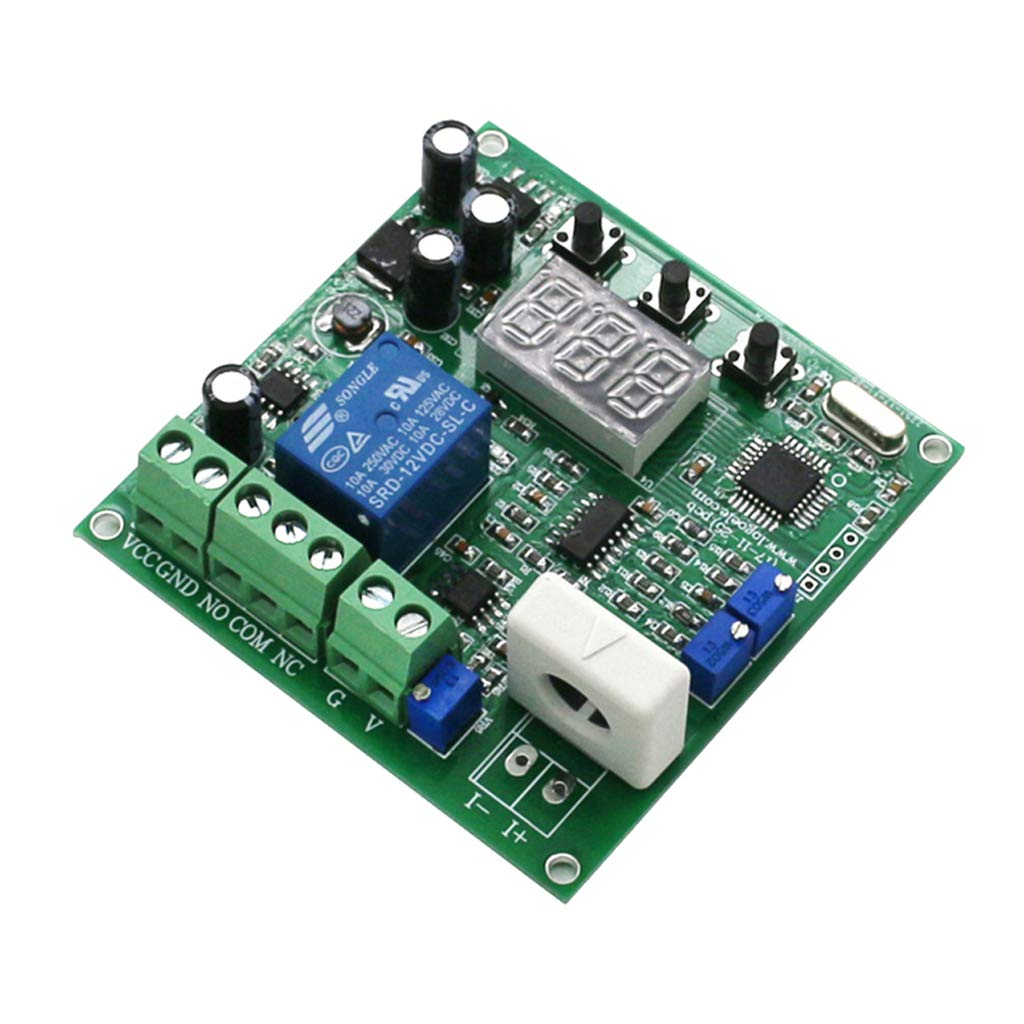 B Blesiya (Working DC12V) 0-50A AC Current Sensor Detection Switch Output