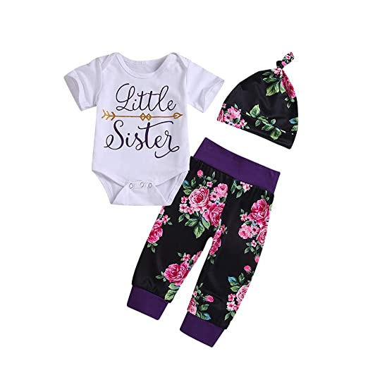 f35e1494746a Amazon.com  Newborn Infant Baby Girls Boys Clothes Outfits 3-24 ...