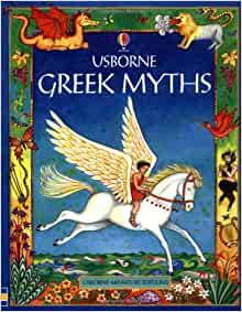Mini Greek Myths for Young Children (Mini Usborne Classics): Heather Amery, Linda Edwards