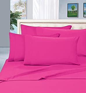 best seller luxurious bed sheets set on amazon elegant comfort thread count wrinkle - Twin Bed Sheets