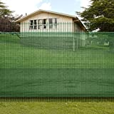 Cheap Festnight Privacy Screen Fence Blockage Mesh Windscreen Fabric Shade Cover Tarp, 3′ x 16′