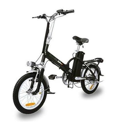 Amazon.com: electrobike Alfa Plus – Bicicleta con batería de ...