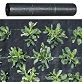 BenefitUSA Garden Weed Barrier Landscape Fabric Durable Heavy-Duty Weed Block Gardening Mat (4'x100')