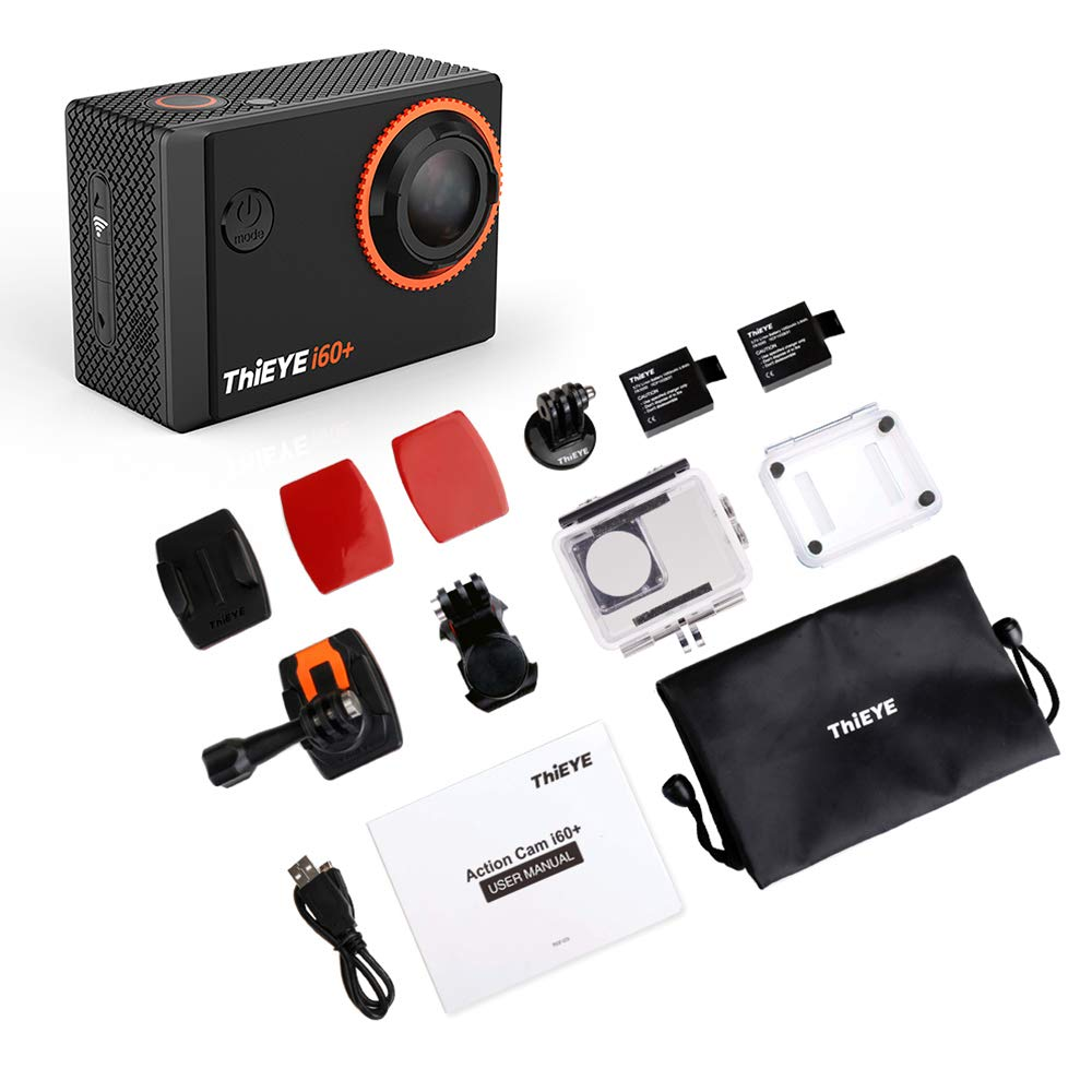 Docooler ThiEYE Action Camera, i60+ 4K 30fps WiFi: Amazon in