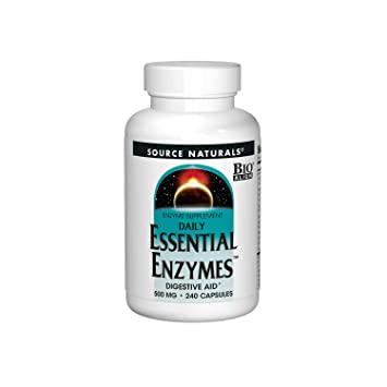 Amazon.com: Suplemento de enzimas Source Naturals Daily ...