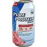 Pure Protein Shake Strawberry Cream (Pack of 12)