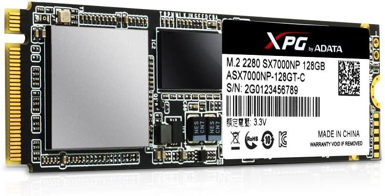 ADATA SX7000NP 128 GB Serial ATA III M.2 - Disco Duro sólido (128 ...