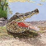 Design Toscano Chomper's Gonna Get You Crocodile Statue For Sale