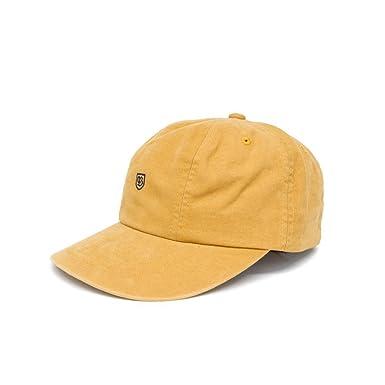 Brixton B-Shield Adjustable Cap Gold.-O S  Amazon.co.uk  Clothing 48406641f00