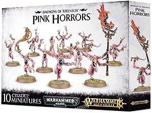 Warhammer 40000 Games Workshop Daemons of Tzeentch Pink Horrors