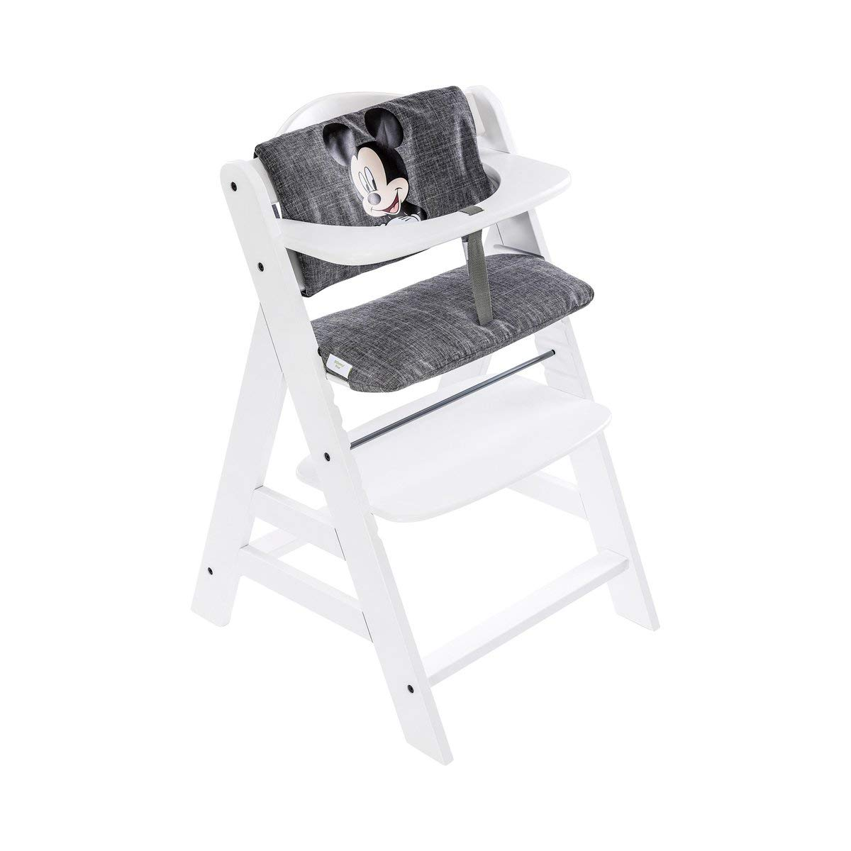 Hauck Hochstuhlauflage Deluxe Sitzpolster Minnie grey TOP