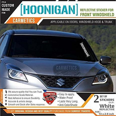Carmetics Hoonigan Sticker For Hyundai Eon 2 Pcs Amazon In Car