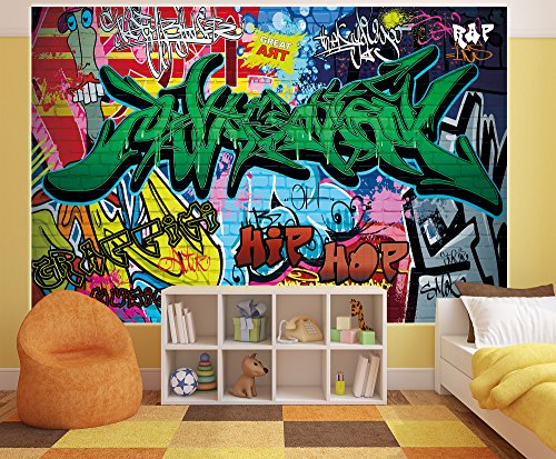 Graffiti photo wallpaper street art graffiti wallpaper for Buy street art online