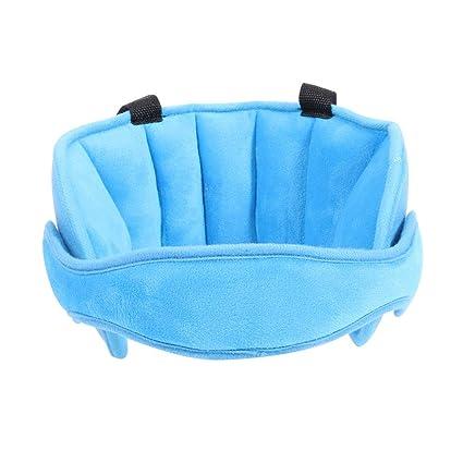 Sujeta cabezas Soporte Cabeza Sujeta Cabezas Coche para Niños Seguridad Asiento de coche Sueño Siesta Ayuda