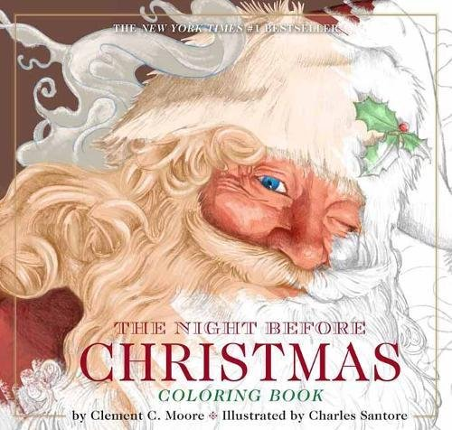 Night Before Christmas Coloring Classic product image