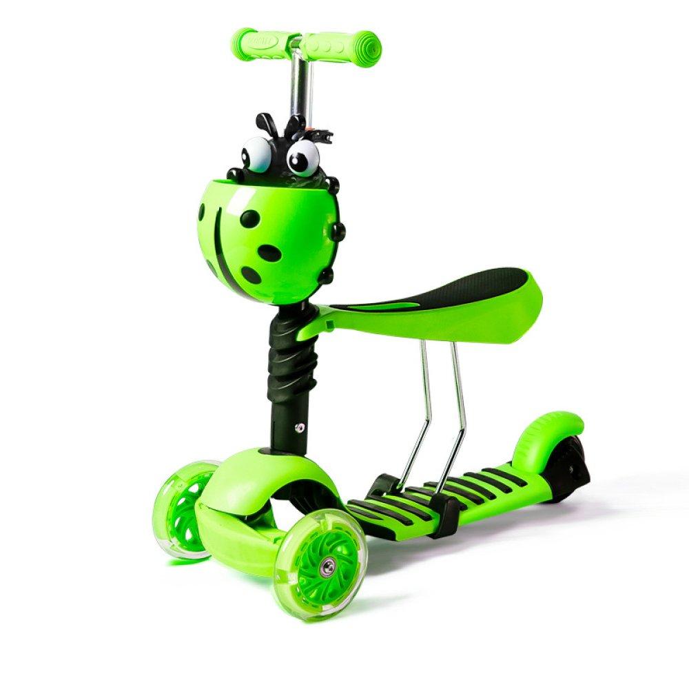 Niños Scooter - Diseño Versátil Para 1-10 Años De Edad,PinkB ...