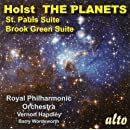 Holst: The Planets; St. Pauls Suite; Brook Green Suite
