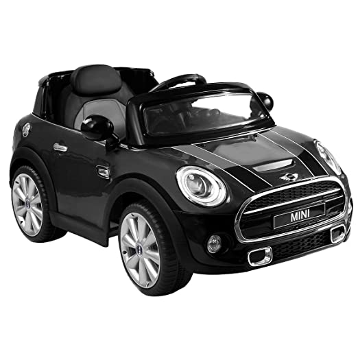 Costzon Ride On Car, Licensed BMW Mini Cooper Electric Car, 12V Battery  Powered Kids Vehicle with Manual/Parental Remote Control Modes, MP3 Port,