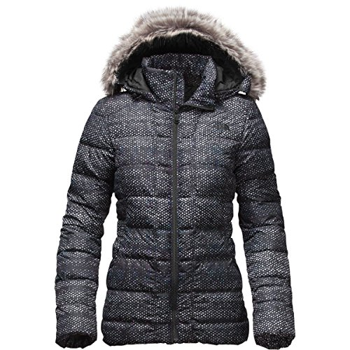 NEW The North Face Women's Gotham Jacket TNF Black Donegal P
