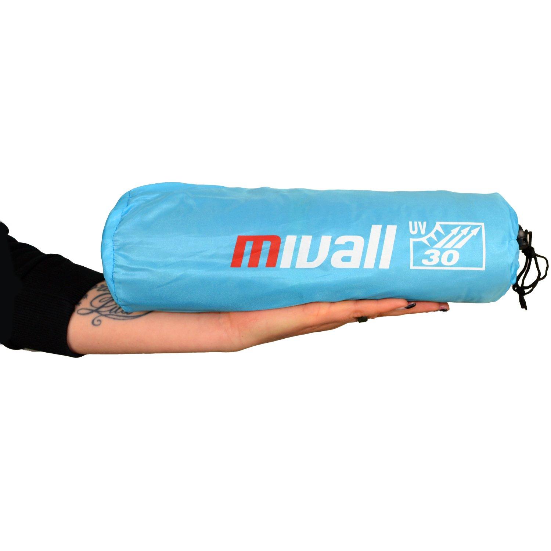 Tente de plage voyage Tente de plage avec protection anti-UV Facteur 30et système Air Flow Mivall