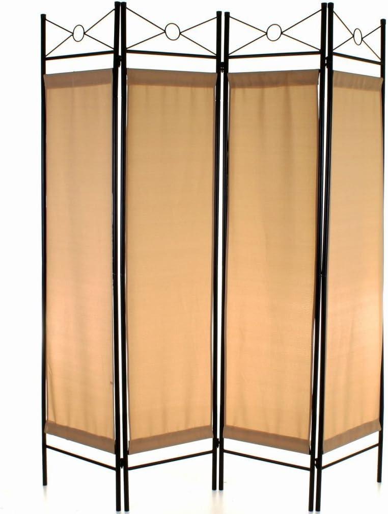 4 Panel separador Protector de pantalla con filtro de privacidad separador de pared plegable maniobrables nuevo: Amazon.es: Hogar
