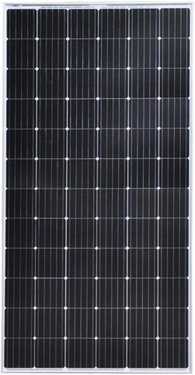 YILANJUN Monocristalino 350W / Policristalino 300W Módulo Solar, Ahorro Energético, Panel Solar, Módulos Fotovoltaicos, para embarcaciones de Pesca domésticas o Carga de baterías de 24V