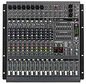 Cada mezclador PPM dispone de dos amplificadores de potencia ligeros para Main y Monitores